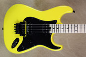 Charvel USA SoCal Custom Shop 2H Graffiti Yellow Guitar