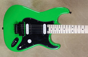 Charvel USA Custom Shop SoCal 2H Slime Green Meanie Guitar