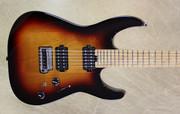 Charvel Pro Mod DK24 2H 2PT CM Caramelized Maple Fingerboard 3 Tone Sunburst