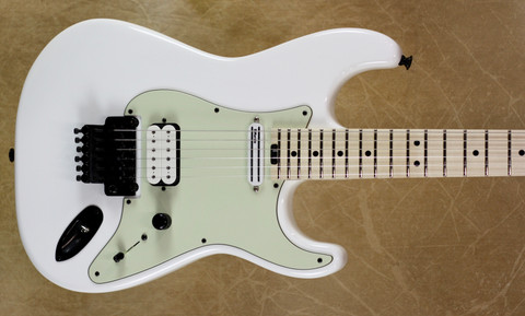 Charvel USA SoCal Custom Shop HS Mint Pickguard Snow White Guitar