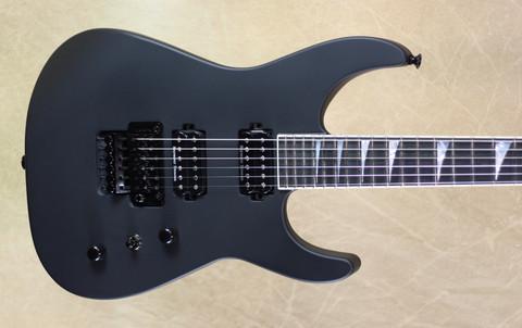 Jackson USA Custom Shop SL2H Speed Neck Soloist Satin Black
