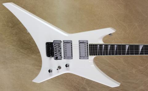 Jackson USA Custom Shop WR1 Warrior Snow White Chrome Hardware Guitar