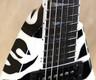 Jackson USA Custom Shop KV2 King V Zebra Guitar