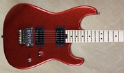 Charvel USA Custom Shop SD Masterbuilt 2H Brilliant Fire Red Flake Sparkle