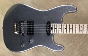 Charvel USA Custom Shop SD Masterbuilt HS Smoked Chrome Flake Sparkle