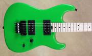 Charvel USA Custom Shop San Dimas 2H Slime Green Guitar