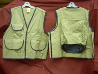 Jim-Gem Pro 10-Pocket Field Vest- Tan