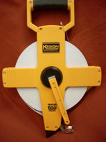 Keson Fiberglass 200' Measuring Tape- Metric