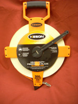 Keson Fiberglass 300' Measuring Tape- Metric