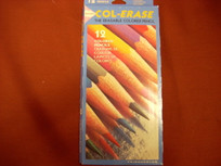 Col-Erase 12 Colored Erasable Pencil Set