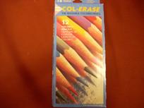 Col-Erase 12 Colored Erasable Pencil Set