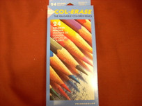 Col-Erase 24 Colored Erasable Pencil Set