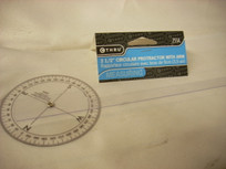 C-THRU Protractor With Arm