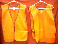 Orange Value Mesh Vest