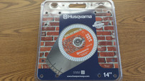 "Husqvarna 14"" Blade Elite -Cut Brick (S)"