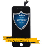 Premium Apple iPhone 6 LCD Digitizer Assembly - Black