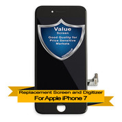 Premium Apple iPhone 7 LCD Digitizer Assembly - Black