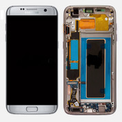 Samsung Galaxy S7 Edge G935A G935T LCD Digitizer Assembly Silver (with Frame)