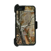 Apple iPhone 7+ Plus Rugged Case Cover with Holster and Belt Clip in Retail Package - Camouflage