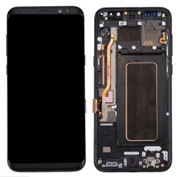 Samsung Galaxy S8+ Plus  6.2in LCD +Touch Screen Digitizer Glass - Black (with Frame)
