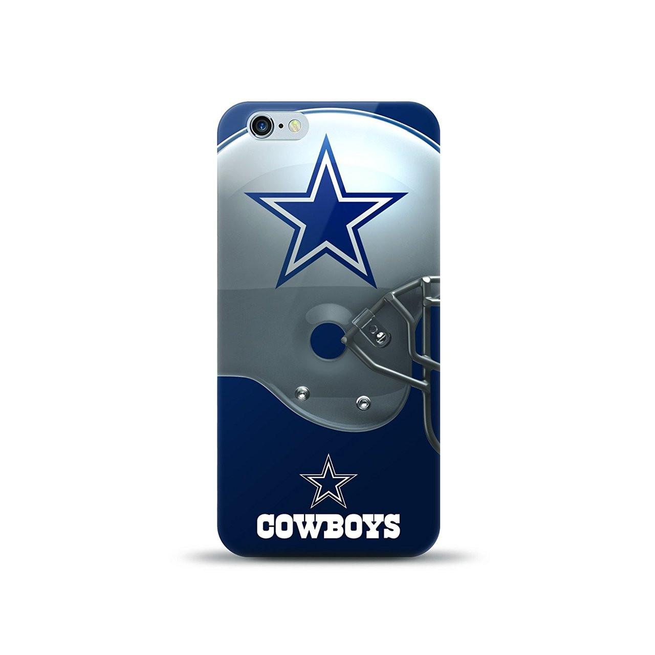 quality design 2fb3c 24bd2 NFL Dallas Cowboys iPhone 7+ Plus Helmet Series TPU Gel Case