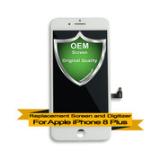 OEM Apple iPhone 8+ Plus LCD Digitizer Assembly - White