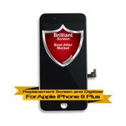 Brilliant Premium Apple iPhone 8+ Plus LCD Digitizer Assembly - Black