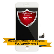 Brilliant Premium Apple iPhone 8 LCD Digitizer Assembly - White