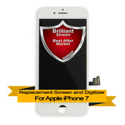 Brilliant Premium Apple iPhone 7 LCD Digitizer Assembly - White