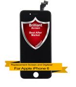 Brilliant Premium Apple iPhone 6 LCD Digitizer Assembly - Black