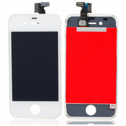 Apple iPhone 4 GSM LCD Digitizer Assembly - White