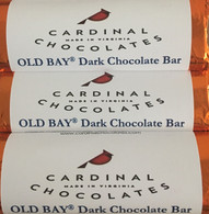 Old Bay Dark Chocolate Bar