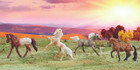 Breyer Horses Stablemates Dapples and Dots Gift Set