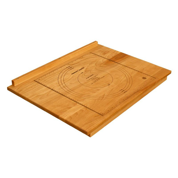 "Catskill Craftsmen - 24"" x 18"" x 2.75"" 3265 Deluxe over-the-counter-edge Pastry Board"