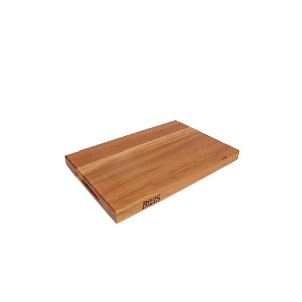 "Cherry R Cutting Board - 18""x 12""x 1-1/2"" - John Boos"