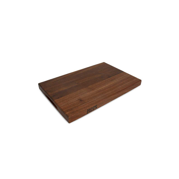 "Walnut R Cutting Board - 18""x 12""x 1-1/2"", Pack Of 6 - John Boos"