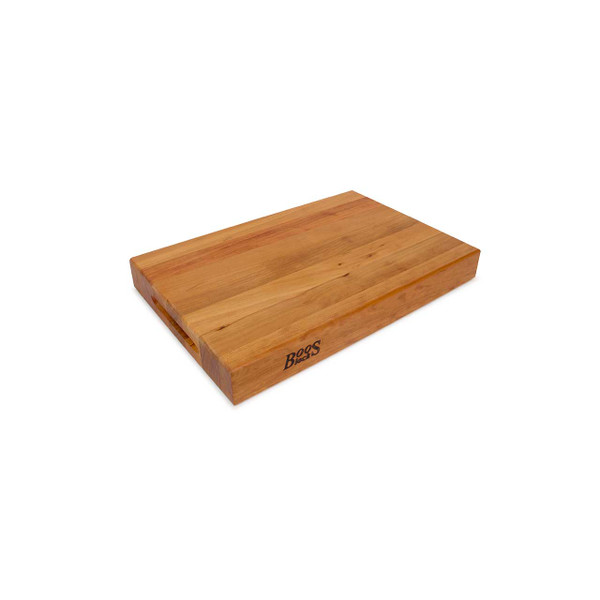 "Cherry RA Cutting Board - 18""x 12""x 2-1/4"", Pack Of 3 - John Boos"