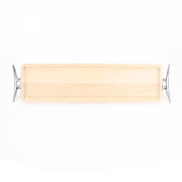 Bread Board - Maple (w/ Cleat Handles)