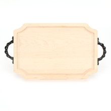 "Selwood 12"" x 18"" Cutting Board - Maple (w/ Twisted Handles)"