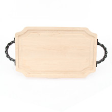 "Selwood 15"" x 24"" Cutting Board - Maple (w/ Twisted Handles)"