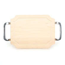 "Selwood 9"" x 12"" Cutting Board - Maple (w/ Polished Handles)"