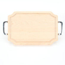 "Selwood 12"" x 18"" Cutting Board - Maple (w/ Polished Handles)"