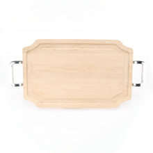 "Selwood 15"" x 24"" Cutting Board - Maple (w/ Polished Handles)"