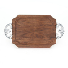 "Selwood 9"" x 12"" Cutting Board - Walnut (w/ Classic Handles)"