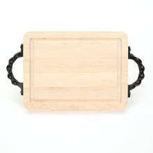 "Wiltshire 9"" x 12"" Cutting Board - Maple (w/ Twisted Handles)"