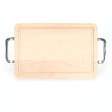"Wiltshire 10"" x 16"" Cutting Board - Maple (w/ Polished Handles)"