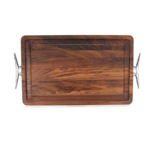 "Wiltshire 15"" x 24"" Cutting Board - Walnut (w/ Cleat Handles)"