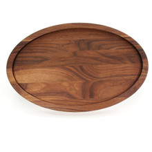 "Grandbois Trencher 15"" x 24"" Cutting Board - Walnut (No Handles)"
