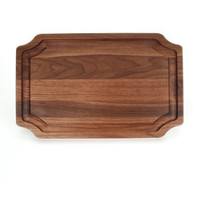 "Selwood 15"" x 24"" Cutting Board - Walnut (No Handles)"