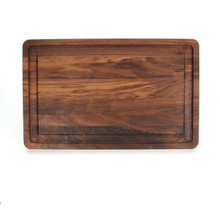 "Wiltshire 15"" x 24"" Cutting Board - Walnut (No Handles)"